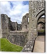 Raglan Castle - 6 Canvas Print