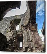 Raglan Castle - 8 Canvas Print