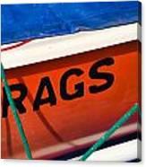 Rags Canvas Print