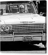 Ragtop Chevrolet Canvas Print