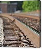 Rail Head - Dalton Georgia Canvas Print