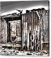Rail Station Canvas Print