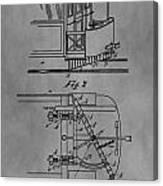 Railcar Fender Canvas Print