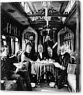 Railroad Directors, C1868 Canvas Print