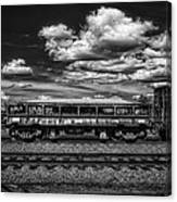 Railroad Gravel Car Canvas Print