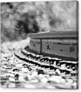 Railroad Heat Canvas Print