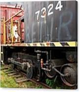 Railroad Retirement Canvas Print