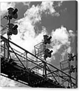 Railroad Signal Tower Canvas Print