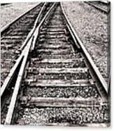 Railroad Switch Canvas Print