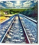 Railroad To Heaven Canvas Print