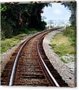 Railroad Tracks Canvas Print