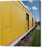Railroad Train Canvas Print
