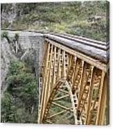 Railway Bridge Canvas Print