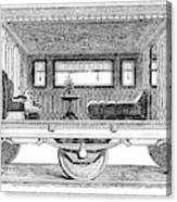 Railway Carriage, 1864 Canvas Print