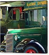 Railway Express Canvas Print