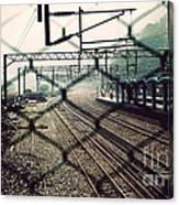 Railway Station Canvas Print