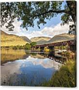 Railway Viaduct Over River Orchy Canvas Print