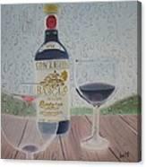 Rain And Wine Canvas Print