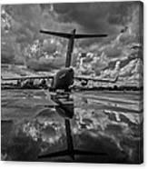 Rain At The Base Canvas Print