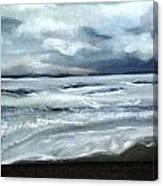 Rain Coming In Canvas Print