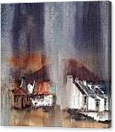 Rain Fall On Dooagh Achil Canvas Print