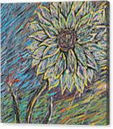 Rain Flower Canvas Print