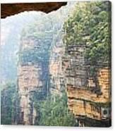 Rain In Mountains Canvas Print