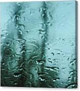 Rain On Bare Trees Canvas Print