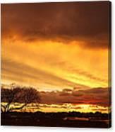 Storm At Dusk 2am-108330 Canvas Print