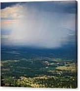 Rain Shaft From The Peaks Canvas Print