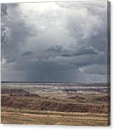 Approaching Storm The Painted Desert Arizona Canvas Print
