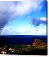 Rainbow At Punta Banda Canvas Print
