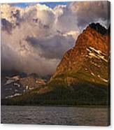 Rainbow At Sunrise - Panorama Canvas Print