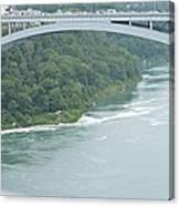 Rainbow Bridge Over Niagara Canvas Print