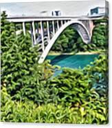 Rainbow Bridge View Canvas Print