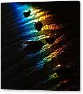 Rainbow Drops Canvas Print