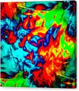 Rainbow Dye Canvas Print