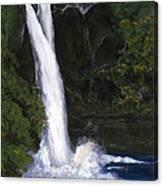 Rainbow Falls Hilo Hawaii Canvas Print
