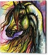 Rainbow Horse 2 Canvas Print