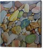 Rainbow In Stone Canvas Print