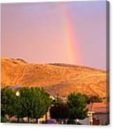 Rainbow In Toscana Canvas Print