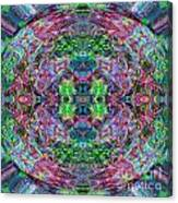 Rainbow Kaleidoscope  Canvas Print