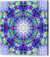 Rainbow Lotus Canvas Print