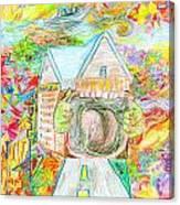 Rainbow Maw Canvas Print