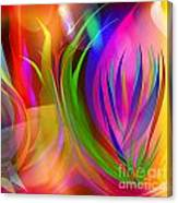 Rainbow Of Thoughts Canvas Print
