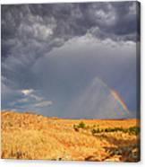 Rainbow On The Plains Canvas Print