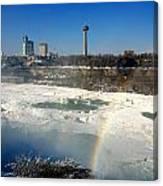 Rainbow Over Canada Canvas Print