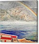 Rainbow Over Hermanus Canvas Print