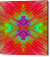 Rainbow Passion Abstract 1 Canvas Print