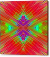 Rainbow Passion Abstract 2 Canvas Print
